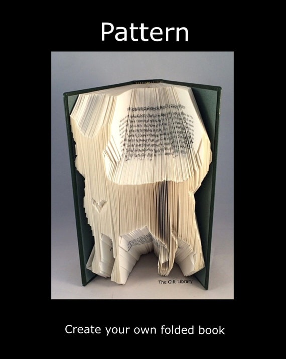 Folded book art pattern chihuahua dog pattern to create your Dog clothes design your own