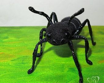 Needle felted ant, named Murash   - S O L D -
