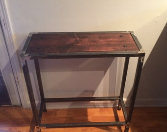 Hand made accent table