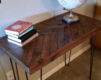 Chevron Hairpin Entry Table
