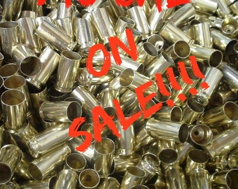 40 S&W Once Fired Brass- 1000 Pieces