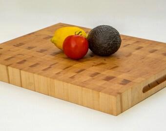 Solid Maple End-Grain Cutting Board