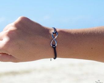 Infinity Charm Bracelet - Multiple Colours