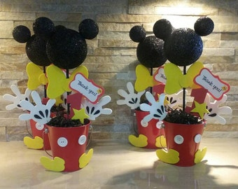 Mickey Mouse Centerpiece/ Baby Mickey centerpieces