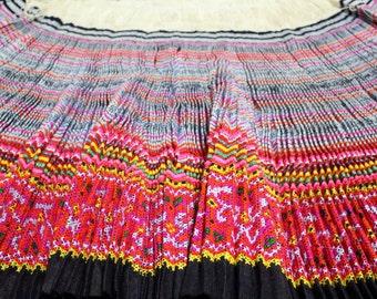 Fabric from Hmong skirt
