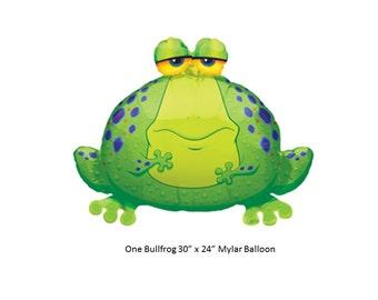 Frog Mylar Balloon
