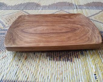 Plate / flat wooden.
