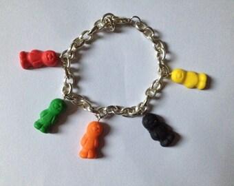 Jelly Baby bracelet