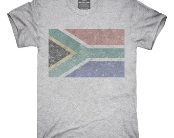 Retro Vintage South Africa Flag T-Shirt, Hoodie, Tank Top, Gifts