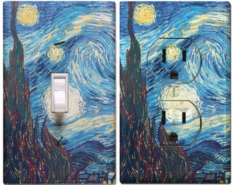 Starry Night Switch Cover