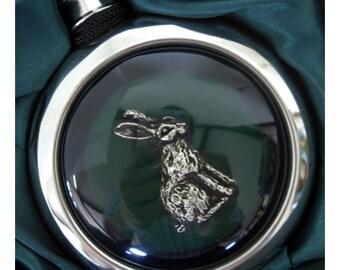 Rabbit Whiskey Flask