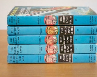 Vintage 1950s and 1960s The Hardy Boys The Mystery Books One book