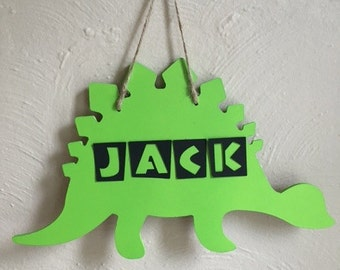 Personalized Hanging Dinosaur