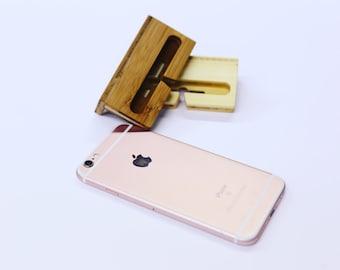 Adhesive iPhone Dock