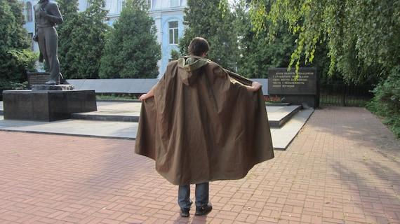Like this item? & Soviet Army Groundsheet tent raincoat Vintage USSR Cape
