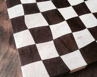 Drunken checkerboard