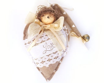 Heart Love with fairy