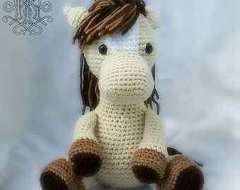 Horse Stuffed Animal - Baby Toy - Toddler Toy