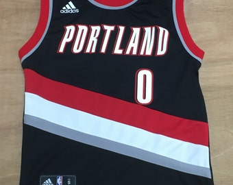 Portland Trailbalzers - Youth S 8 Years Old - Damian Lillard - NBA Basketball Jersey