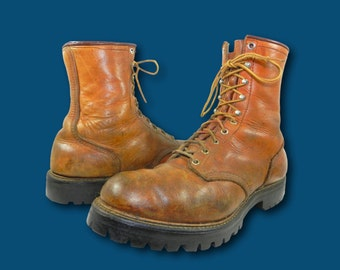 Vintage 60s RED WING Irish Setter Sport Boot Lace Up Hunting Outdoor Boots 12 D