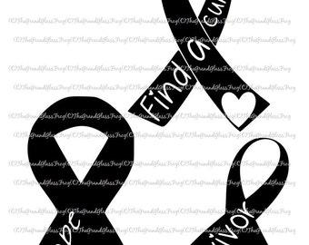 Cancer awareness svg(svg035), Cancer awareness, Breast cancer svg, svg files, vector, clipart breast cancer vector, breast cancer clipart