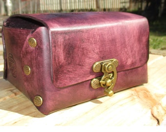 Personalized Leather Box