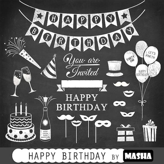 Birthday Clipart: HAPPY BIRTHDAY CLIPART With