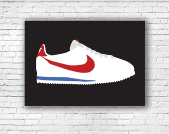 Nike Air Force 1 Illustration Print Forest Gump Swag A5