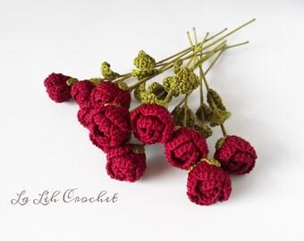 SALE! Romance Rose Bridal Bouquet: for home decor, gift, valentines gift, wedding bouquet, party decor, decoration,  etc.