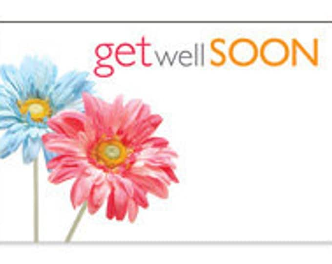Gift bags cards sunny bunny gardens get well soon cards enclosure cards get well soon gift card get note card gift wrapping negle Image collections