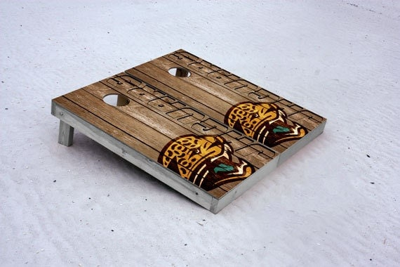 jacksonville jaguars nfl custom cornhole boards woody free cornhole. Cars Review. Best American Auto & Cars Review