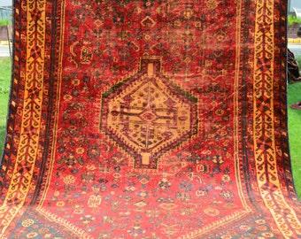 FREE SHIPPING 5 X 8 Ft Antique Vase Design 4TH Quarter 19TH Century Carpet