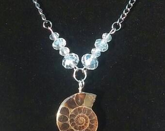Genuine Ammonite Fossil Necklace