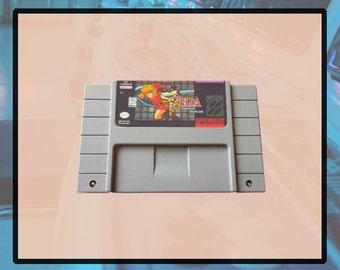 The Legend of Zelda Parallel Worlds Super Nintendo RPG Snes SALE