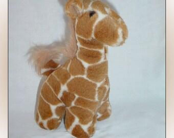 Ganz Giraffe Plush Stuffed Animal 1996