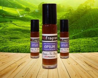 OPIUM Fragrance Body Oil  (1/3oz Roll On)