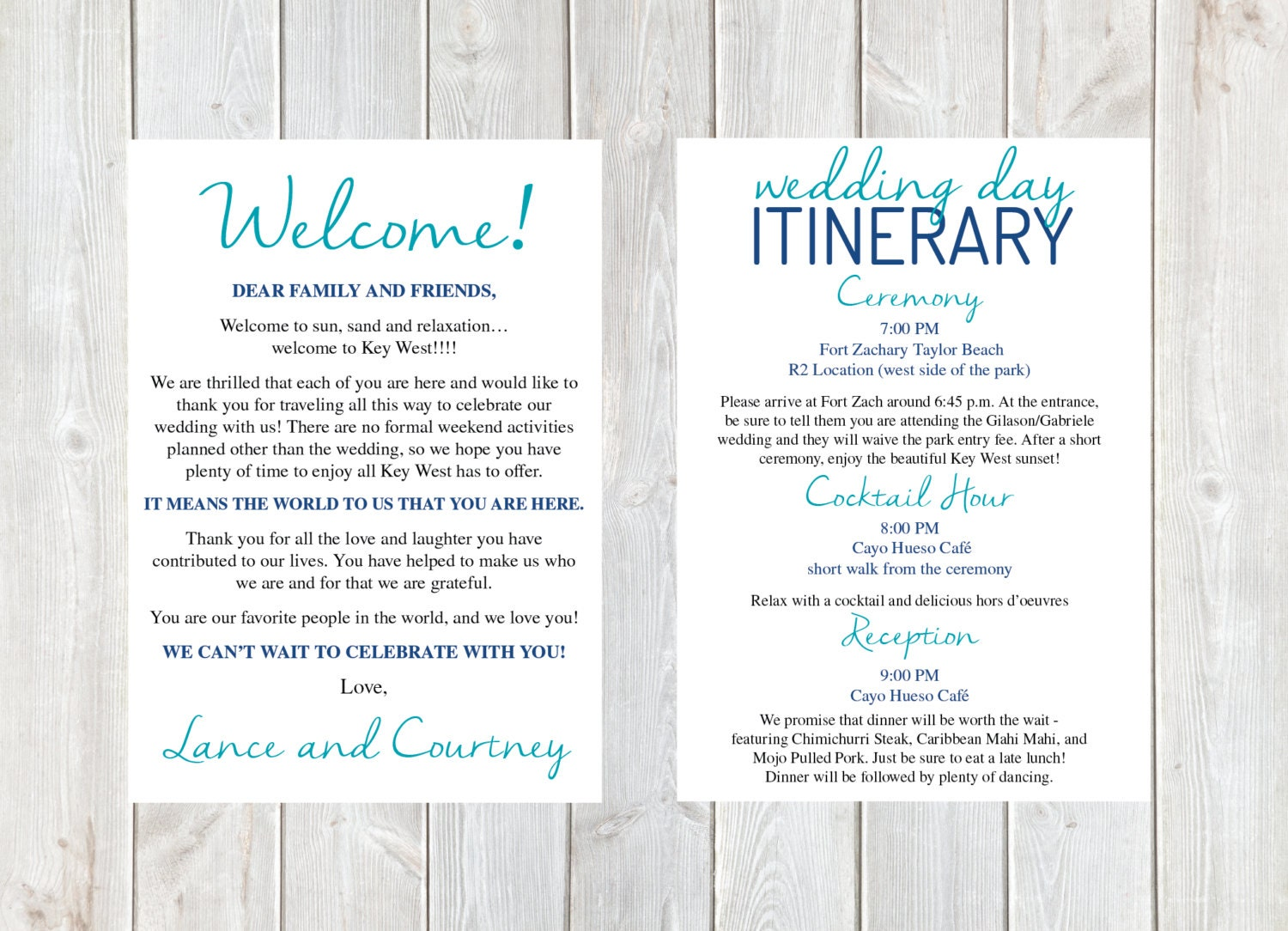 welcome letter wedding welcome letter wedding itinerary With destination wedding welcome letter template