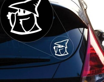 Final Fantasy Black Mage Vinyl Decal Sticker for Car Window, Laptop and More # 849