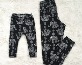 CUSTOM Mommy + Me Leggings *READ DESCRIPTION!*