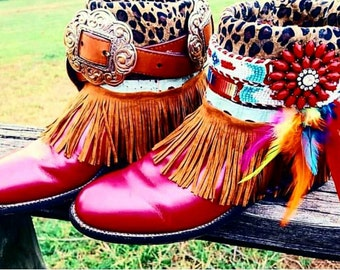 Foxy Roxy Gussied-Up Cowgirl Boots!