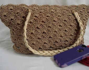 Rippled Shells Purse PATTERN | Crochet Pattern | Purse Pattern | Crocheted Purse | Shell Stitch | Women | Gift Idea for Mom