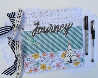 Instax travel scrapbook mini album - premade travel scrapbook album - Instagram Instax travel mini album