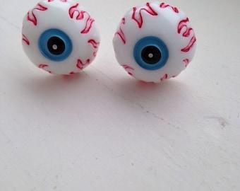 Zombie Eyeball Cufflinks Halloween