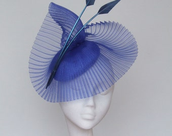 Royal Blue Fascinator Royal Ascot Hat