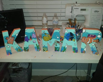 Finding Nemo letters