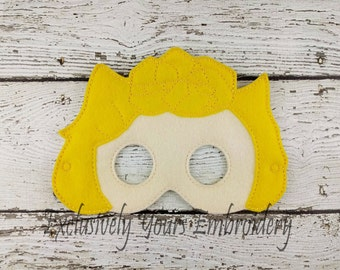 Sally Brown Children's Felt Mask  - Costume - Theater - Dress Up - Halloween - Face Mask - Pretend Play - Party Favor