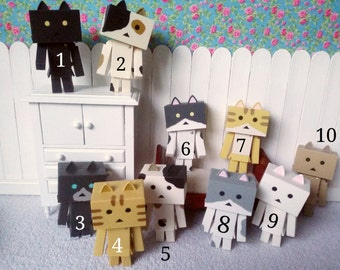 Danbo Cat 7cm for Blythe and dolls