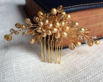 Bridal hair comb, wedding hair comb, bridal headpiece, bridal hair piece, bridal hair accessories, wedding comb, haircomb