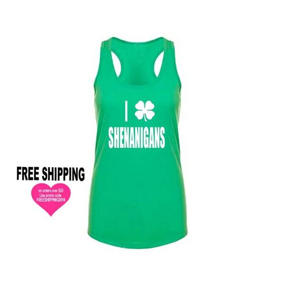 St Patrick's Shirts, St Patricks Day, Kiss Me I'm Irish, Green Tank Top, Funny Shirts, Workout Tank, Yoga Tank, Gym Tank, Workout Shirts
