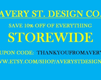 COUPON CODE 10% off STOREWIDE!